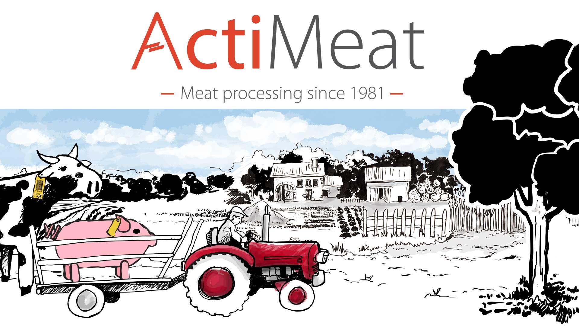 Vidéo réalisée par Déclic Vidéo pour la société Acti Meat